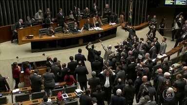 Permanência de Maranhão na presidência da Câmara trava votações - A Câmara não vota nada desde o dia cinco de maio. Waldir Maranhão assumiu o lugar de Eduardo Cunha, que foi afastado pelo Supremo Tribunal Federal.