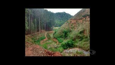 Polícia Ambiental lacra bombas hidráulicas em Governador Lindenberg no Norte do ES - Operação acontecem por conta da estiagem que assola a região.