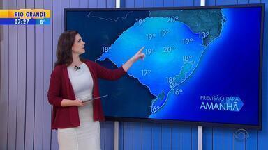 Tempo: amanhecer será mais frio na terça-feira (24) - Mínima no estado deve chegar a 0ºC.