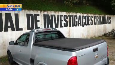 Preso homem apontado como maior 'clonador' de veículos do RS - Com o suspeito foram encontrados dois veículos e material para clonagem.