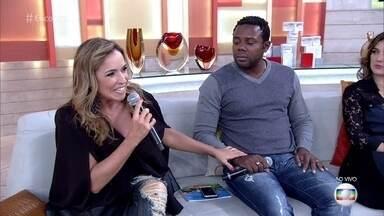 Érico Brás e Daniela Mercury falam sobre o preconceito - Ator diz que o Brasil precisa se reconhecer como um país racista para superar as diferenças e preconceitos