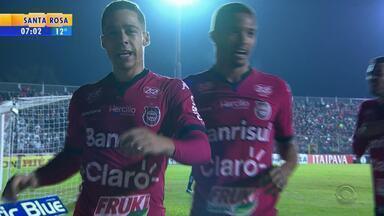 Esporte: Brasil-Pel vence Bragantino no Bento Freitas pela Série B - Assista ao vídeo.
