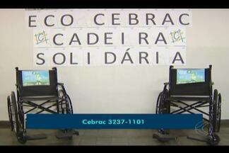 Cebrac em Uberlândia tem cadeiras de rodas para doação - Interessados devem procurar a instituição. Diretor do Cebrac, Fernando Brito Monteiro, fala sobre ação.