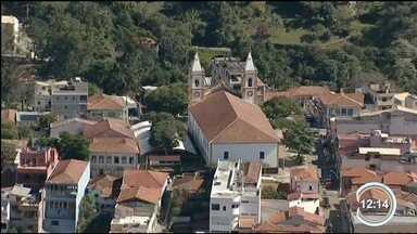 Em Cunha lavandário é atração - Cena de novela foi gravada no local.