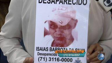 Família procura idoso que está sumido há mais de um mês; veja - Quem tiver informações deve ligar para a Polícia Civil no telefone (71) 3116-0357.