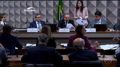 Comissão discute plano de cronograma de trabalho para o impeachment - Esta foi a primeira reunião desde que a presidente Dilma foi afastada. Pelo plano de trabalho, Dilma seria ouvida na comissão no dia 20 de junho, e o parecer votado no plenário do Senado entre os dias 1º e 2 de agosto.