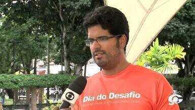 Ação para incentivar exercícios físico acontece em Arapiraca - Cidade do Agreste de Alagoas enfrenda cidade de San Fernandez, na Venezuela.