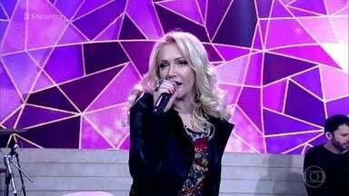Deborah Blando abre o 'Encontro' com música - Sucesso da cantora anima a plateia
