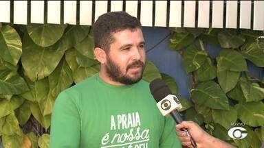 IMA promove Mutirão de Limpeza na Praia da Avenida em Maceió - Ação tem como objetivo orientar a população sobre o descarte do lixo.