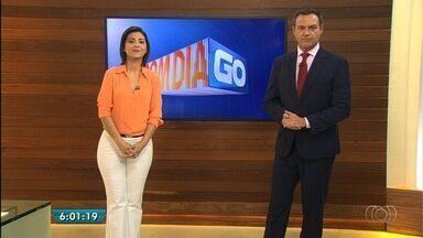 Veja os destaques do Bom Dia Goiás desta terça-feira (31) - Pedreiro aproveita reforma para abrir buraco na parede e furtar cartões bancários.