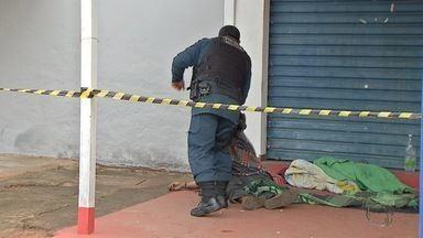 Corpo é encontrado em bairro de Campo Grande - Cadáver estava embaixo de uma marquise no bairro Coronel Antonino.