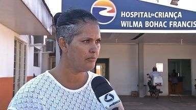 Mãe de jovem doente reclama da dificuldade de atendimento - Mãe de jovem doente reclama da dificuldade de atendimento.