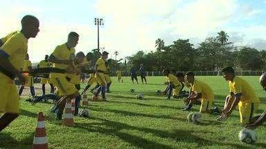 Reforços do CSA se apresentam e iniciam treinos no Mutange - Leandro Cardoso e Jeferson vão defender o CSA na série D.