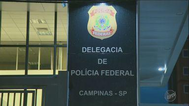 Polícia Federal faz operação contra esquema de corrupção de peritos na região - Policiais apreenderam computadores e outros materiais na manhã desta terça- feira (31).