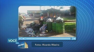 Morador denuncia lixo em praça da Zona Sul de Porto Velho - Fotos denunciam que lixo fica acumulado em Praça da Pirâmide.