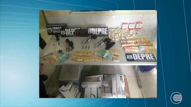 Operação prende pessoas envolvidas com tráfico e assalto a clínicas - Operação prende pessoas envolvidas com tráfico e assalto a clínicas