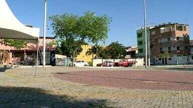 Urna do ESTV: moradores de Santa Mônica em Vila Velha pede construção de academia popular - Crianças pedem manutenção de brinquedos na pracinha.