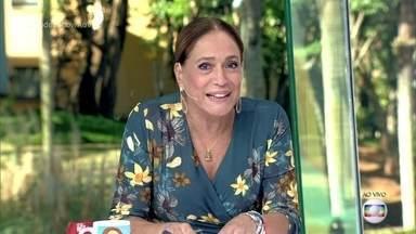 Susana Vieira diz que gostaria de beijar Cauã Reymond em cena - Atriz responde à pergunta de telespectadora sobre o melhor galã que ela já beijou
