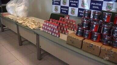 Polícia desativa mais uma laboratório de drogas em Fortaleza - É o segundo laboratório fechado em menos de uma semana.