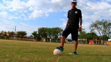 Jovem de Mato Grosso é promessa da base do São Paulo - Jovem de Mato Grosso é promessa da base do São Paulo