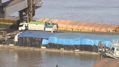 Balanço revela crescimento na movimentação do porto organizado, em Porto Velho - Produtos da agropecuária lideram ranking.