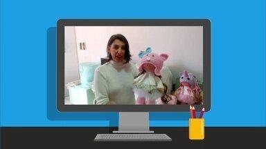 Especialista dá dicas para artesã que faz bonecas de pano e vende nas redes sociais - No quadro VC no PEGN, conheça o caso da artesã Débora, que diz não estar dando conta da demanda por suas bonecas.