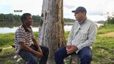 Pesca Legal: veja como turismo de pesca tem ajudado ribeirinhos do AM - Atividade tem movimentado a economia de ribeirinhos que vivem às margens do rio Aripuanã.