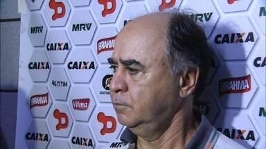 Coletiva de Marcelo Oliveira após o empate entre Sport e Atlético-MG - Equipes empatam por 4 a 4 na Ilha do Retiro