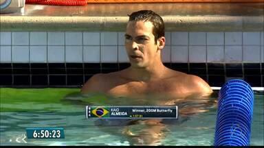 Kaio Márcio vence os 200m borboleta no Circuito Americano de Natação - Paraibano está na reta final de preparação para o seu quarto Jogos Olímpicos.