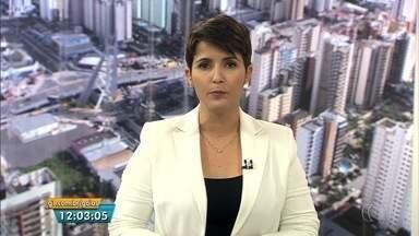 Veja os destaques do Jornal Anhanguera 1ª Edição desta segunda-feira (6) - Vídeo mostra quando dupla aborda comerciante morto em assalto dentro de casa, em Aparecida de Goiânia.