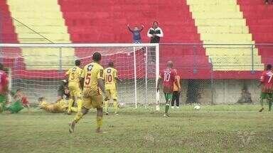 Jabaquara e Portuguesa Santista empatam no Estádio Espanha - Clássico das Praias terminou com o placar em 2 a 2.