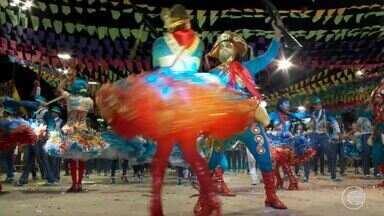 Luar do São João é tricampeã do Festival Clube de Quadrilhas - Luar do São João é tricampeã do Festival Clube de Quadrilhas