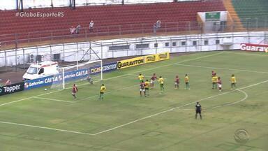 Times gaúchos têm duas derrotas na série C do Brasileirão - Ypiranga perdeu fora de casa e Juventude perdeu em casa.