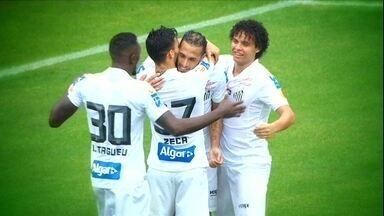 Santos se recupera e vence o Botafogo no Pacaembu - Santos se recupera e vence o Botafogo no Pacaembu