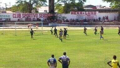 Em preparação para a Série D, Sergipe vence jogo-treino - Atividade foi realizada no sábado de manhã, no João Hora, e colorados venceram por 6 a 0.