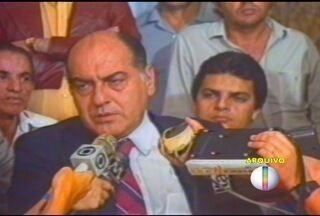 Corpo de ex-governador Hélio Garcia é cremado em Belo Horizonte - O cortejo até a cremação foi encerrado com honras de chefe de estado.