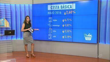 Preço da cesta básica em Fortaleza tem queda de -2,6% - Tomate foi o produto com maior queda na capital cearense.