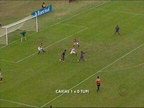 Caxias e Brasil de Faroupilha seguem na luta pelo acesso ao Gauchão - Caxias se classifica como líder do grupo após vitória contra o Tupi