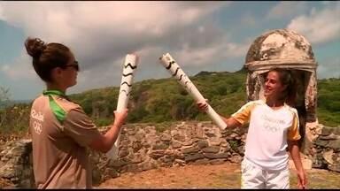 Veja a aventura da Tocha Olímpica pelo Brasil e Carol Barcellos tendo a honra de levá-la - Apresentadora da TV Globo participou do revezamento