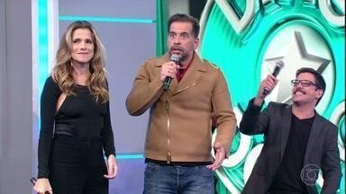 Renata Gaspar passa a vez e Leandro Hassum arrisca palpite - Nenhuma dupla pontua