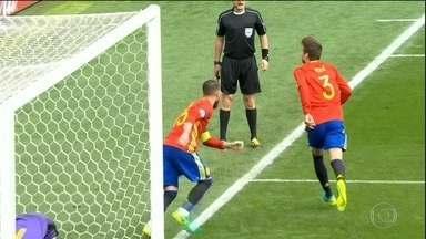 Espanha vence República Tcheca, e Irlanda e Suécia ficam no empate pela Eurocopa - Espanha vence República Tcheca, e Irlanda e Suécia ficam no empate pela Eurocopa