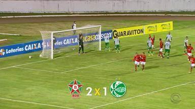 Juventude perde para o Boa Esporte pela Série C - Assista ao vídeo.