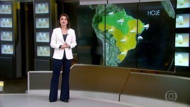 Frio fica mais ameno em boa parte do Brasil - Nesta terça-feira (14), poucos lugares registraram temperaturas negativas.