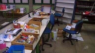 Alunos em escola ocupada de Fortaleza são assaltados - Alunos em escola ocupada de Fortaleza são assaltados
