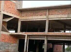 Obras do novo campus da UFT em Tocantinópolis estão paradas - Obras do novo campus da UFT em Tocantinópolis estão paradas