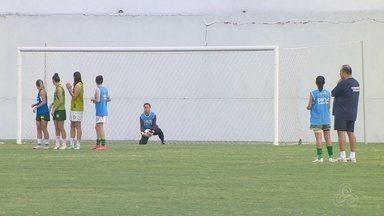 Iranduba se classifica às semis e enfrenta o Vasco na Liga Sub-20 - Meninas de equipe amazonense mantém alto ritmo de treino