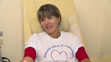 Estoque do Hemominas está abaixo do suficiente em Juiz de Fora - Nesta terça-feira (14), é comemorado o Dia Mundial do Doador de Sangue. Frio afasta doadores.