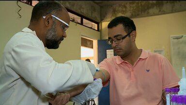 Estudantes da Univasf começaram uma campanha para doação de medula óssea - Em Pernambuco há dezenas de pessoas na fila de espera para um transplante de medula óssea