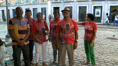 Representantes de manifestações culturais fazem protesto no Maranhão - Representantes de manifestações culturais fazem protesto no Maranhão