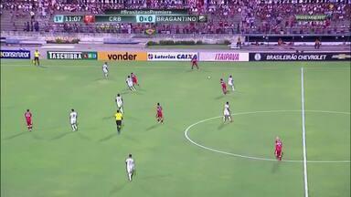 Veja os gols de CRB 2 x 1 Bragantino - Galo vence jogando em casa